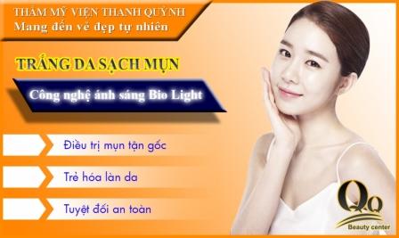 SOS Hỗ trợ Điều trị mụn hiệu quả và làm đẹp da bằng ánh sáng sinh học Bio - Light