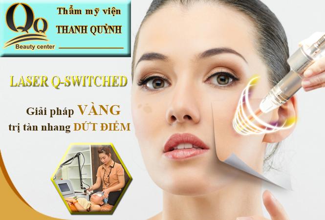 Điều trị tàn nhang hiệu quả bằng công nghệ Laser Q-Switched ND YAG